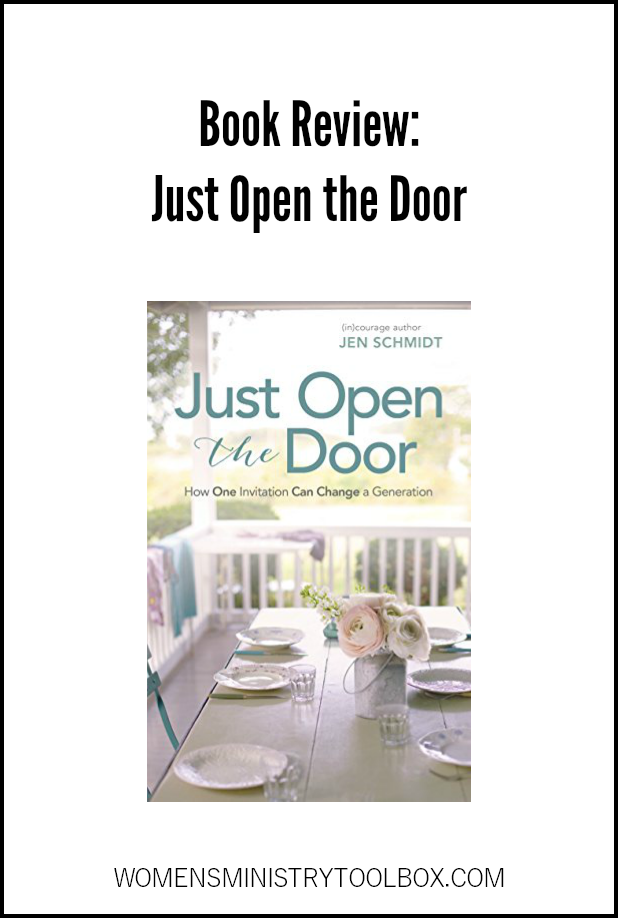 Looking for a great book or Bible study book on hospitality? You'll want to read Just Open the Door. Read my review here.