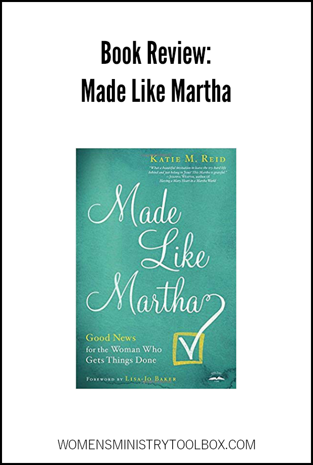 Are you Made like Martha? If so, this book is for you! Check out my book review of Made Like Martha: Good News for the Woman Who Gets Things Done