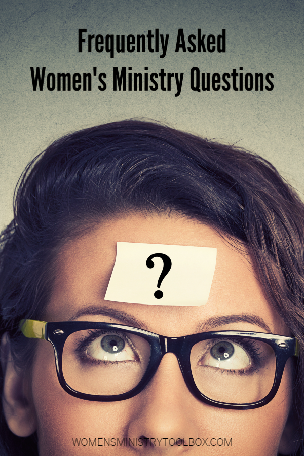 Answers to your most frequently asked women's ministry questions.