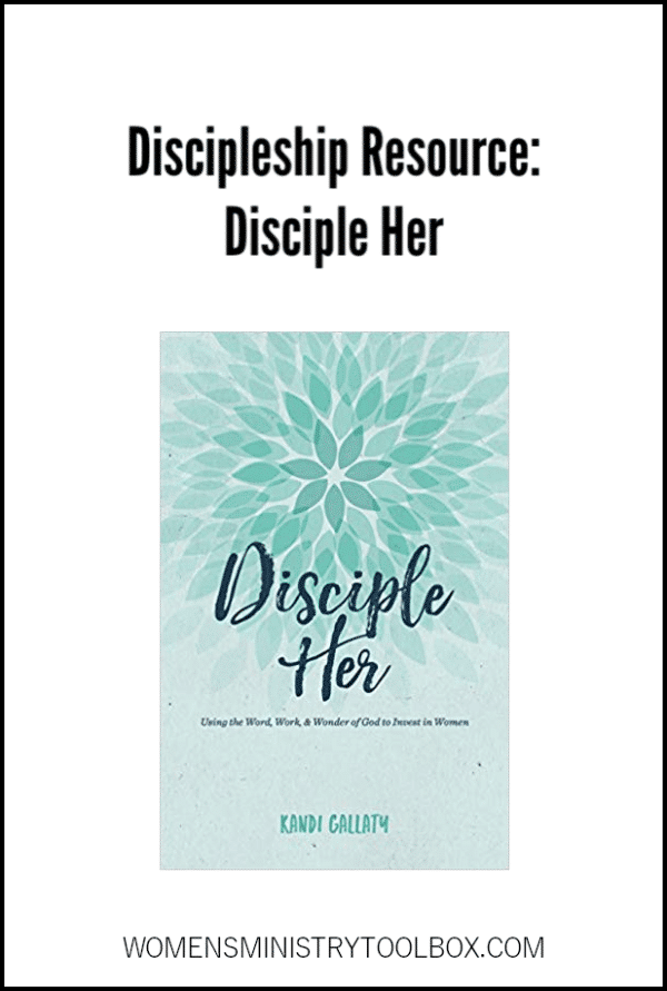 Wondering how to get started offering discipleship for your women? You'll want to check out this resource!