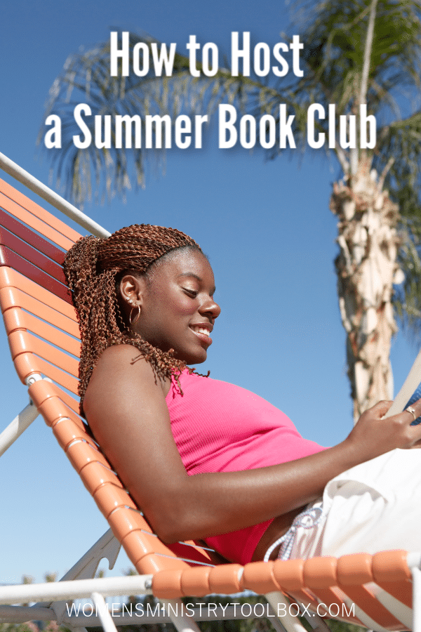 Tips and book suggestions for hosting a summer book club.