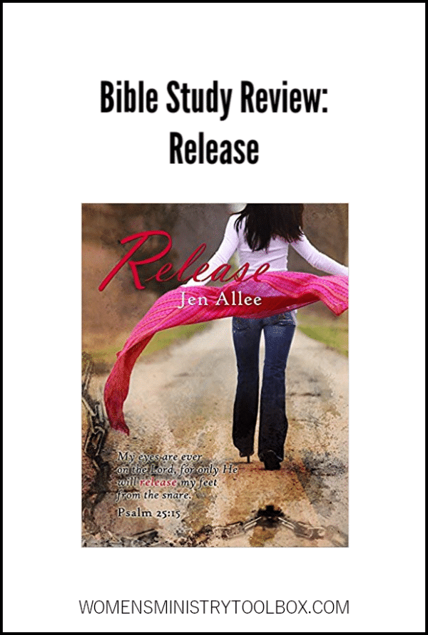 Looking for a Bible study for your group? Check out my review of Release by Jen Allee.