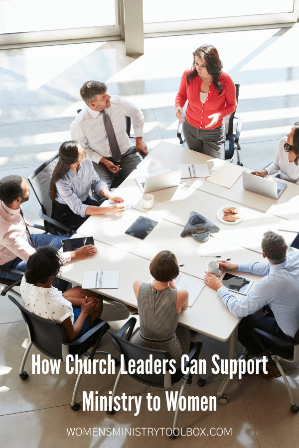 12 Ways Church Leaders Can Support Ministry to Women