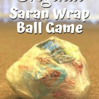 The Original Saran Wrap Ball Game