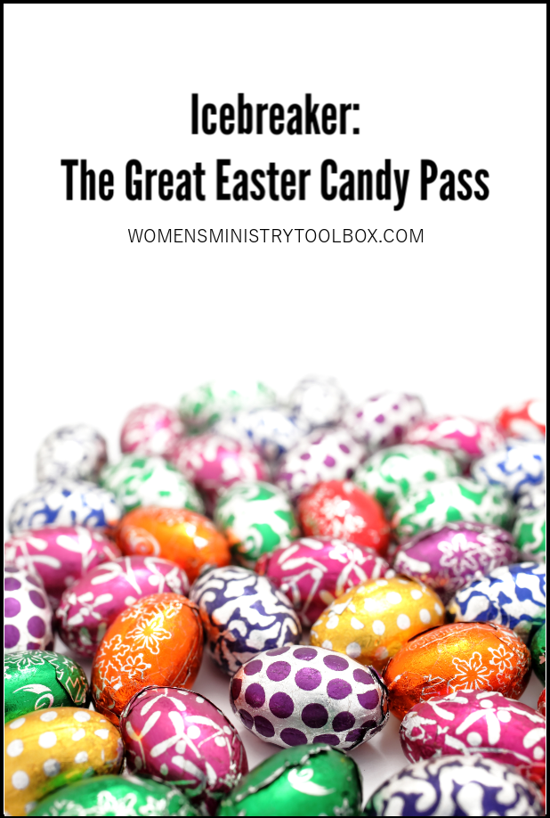 Your group will love the icebreaker game The Great Easter Candy Pass!