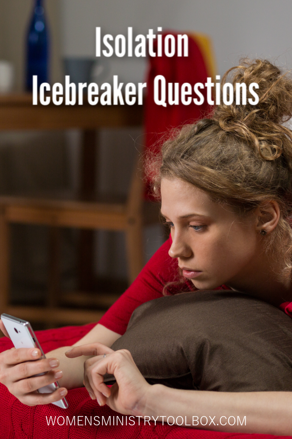 These Isolation Icebreaker Questions are great for sharing on social media and kick-starting video conference calls. They encourage your group to share, connect, and support one another.