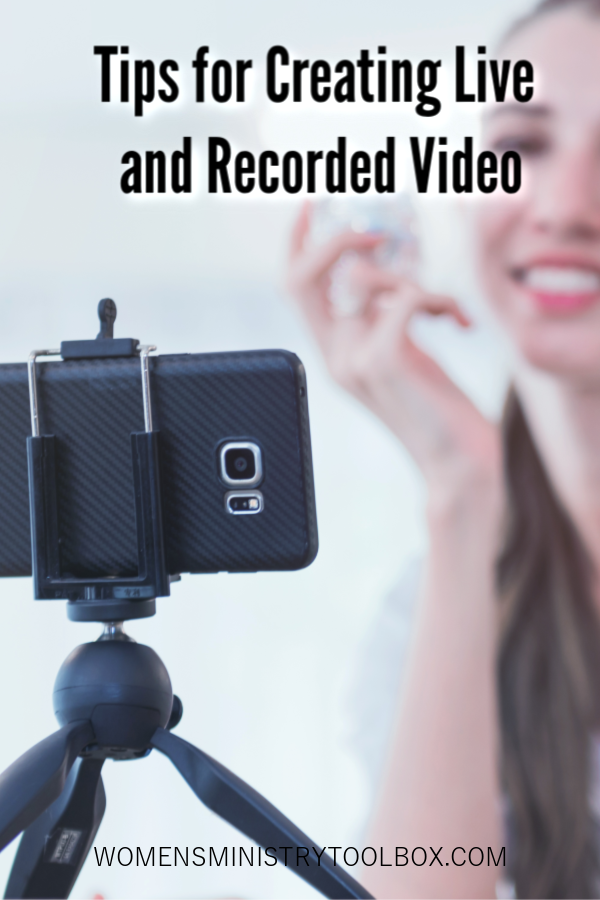 Video is a great way to help your women feel connected right now. These simple tips for creating live and recorded video will help you get started.