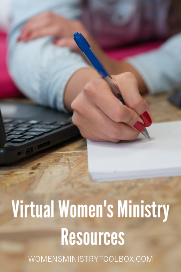 Resources to help your team transition from in-person women's ministry to virtual women's ministry.