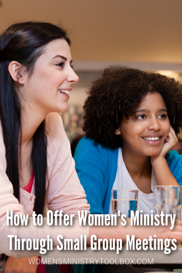 Move forward with women's ministry activities this fall by offering a variety of different types of small groups.