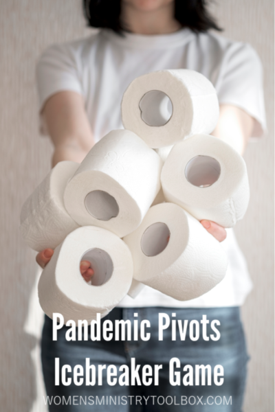 Invite your group to connect over shared pandemic experiences. Includes detailed directions for the Pandemic Pivots Icebreaker Game.