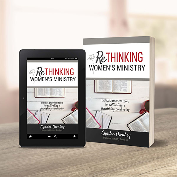 Rethinking Women's Ministry Book