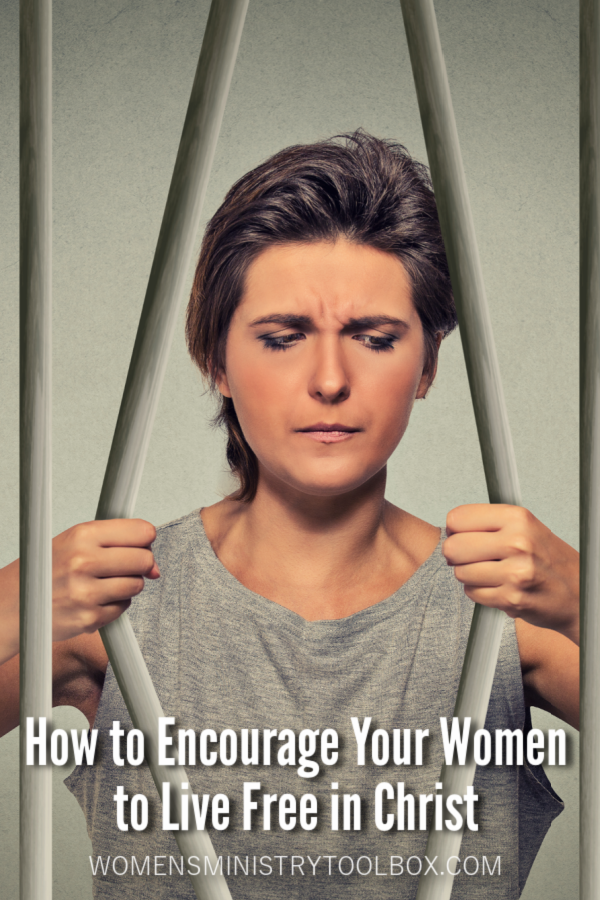 Practical ideas for encouraging women to live free in Christ.