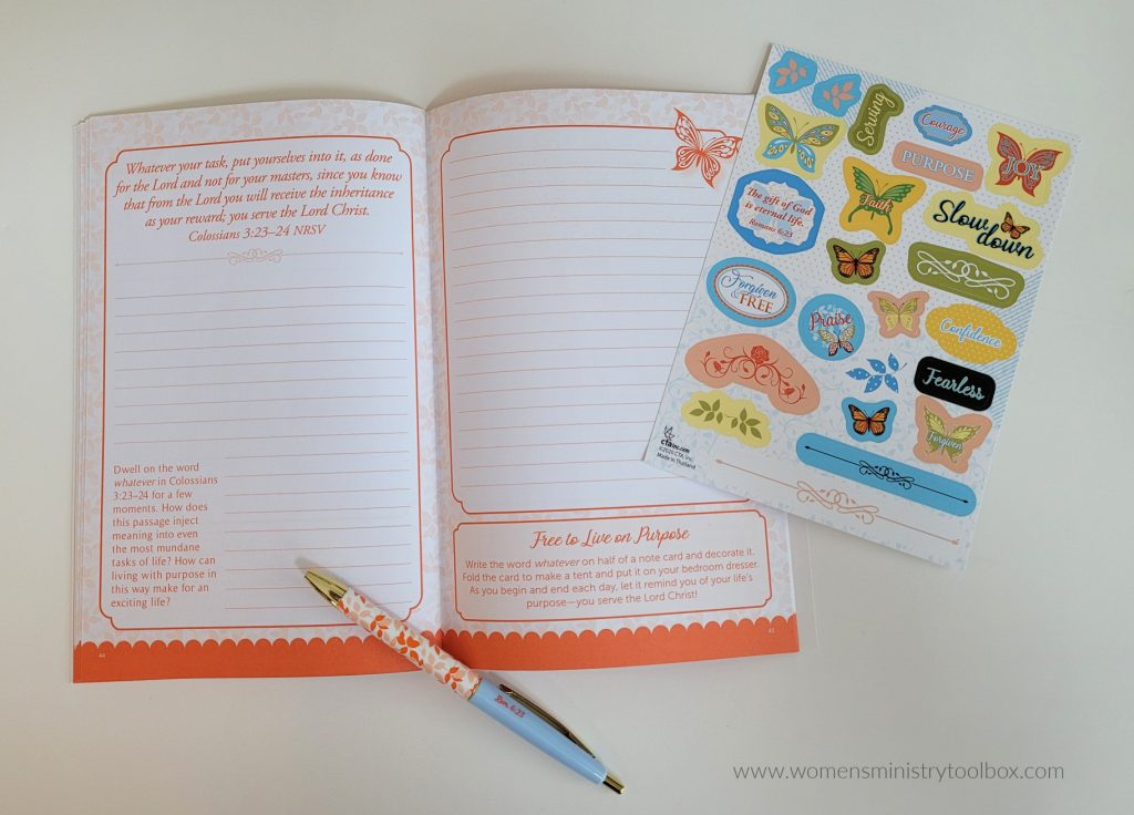 Forgiven and free devotional prayer journal
