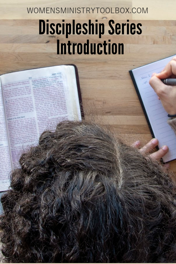 An introduction to my new series on discipleship. Get the inside scoop on what's coming next!